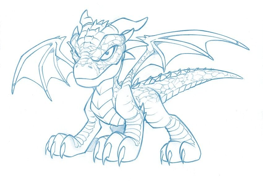 Comment dessiner un dragon - Dessiner dragon ...